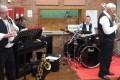 Accueil en musique par le groupe Jazz Again