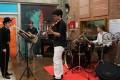 Accueil en musique par les étudiants de l'ISEN